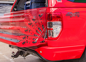 OUTDOORS ESSENTIALS: TAKE AWAY THE HEAVY LIFTING WITH THE TAILGATE ASSIST