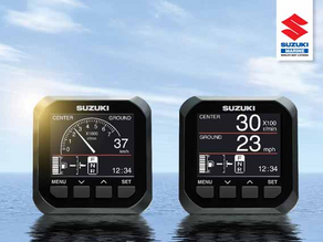 BOATING NEWS: SUZUKI'S DIGITAL ENGINE MANAGEMENT GAUGE
