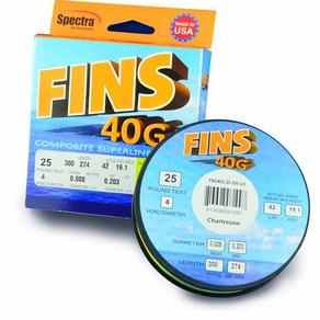 GOOD GEAR: FINS 40G BRAID