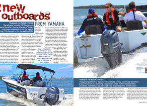 Boats: TWO NEW OUTBOARDS FROM YAMAHA