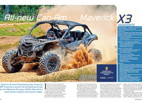 Outdoor PA: All-new Can-Am Maverick X3