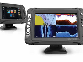 BOATING PA: Lowrance Elite TI Series Fishfinder/Chartplotter