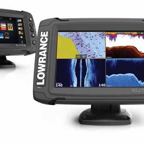 BOATING PA: Lowrance Elite TI Series Fishfinder/Chartplotter