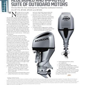 Honda Marine BF Outboards