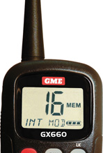 GME's NEW FLOATING HANDHELD VHF