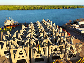 PRODUCT AWARENESS FISHING - DARWIN'S NEW ARTIFICIAL REEFS