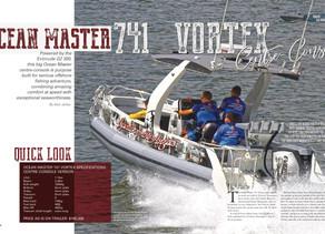Ocean Master 741 Vortex Center Console