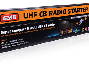 GME: MOBILE CB RADIO STARTER KIT