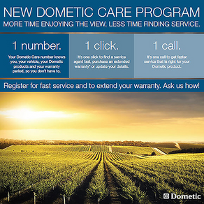 OUTDOORS ESSENTIALS: New Dometic Care Program Takes the Stress out of Service and Warranty