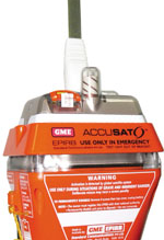 GME's MT406G GPS EPIRB