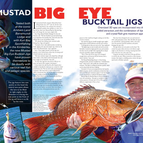Mustad Big Eye Bucktail Jigs