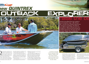 New Quintrex OutBack Explorers Raise The Bar