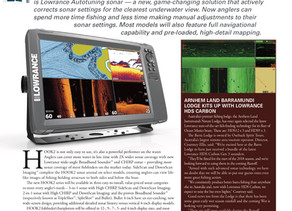The New Lowrance Easy-To-Use Hook2 Fishfinder-Chartplotter Series