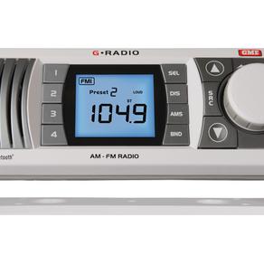 BOATING NEWS: GME GR300BT AM/FM MARINE RADIO WITH BLUETOOTH®