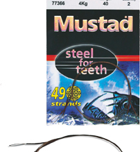 MUSTAD STEEL FOR TEETH 49 STRAND WIRE TRACE