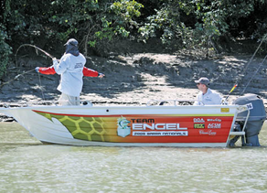 TEAM ENGEL & THE XXXX GOLD BARRA NATIONALS