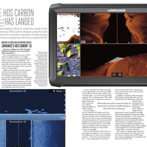 Boating PAs:LOWRANCE HDS CARBON HAS LANDED