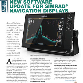 Simrad's Great Software Updates