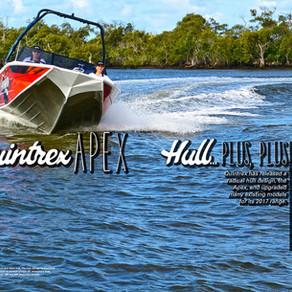 Boats: NEW QUINTREX APEX HULL… plus, plus!