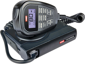 OUTDOORS ESSENTIALS: Super Compact UHF CB Radio With LCD SoundPath™ Speaker Mic