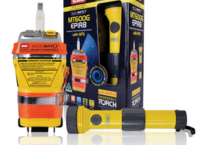 GPS EQUIPPED EPIRB AND EMERGENCY TORCH BONUS PACK