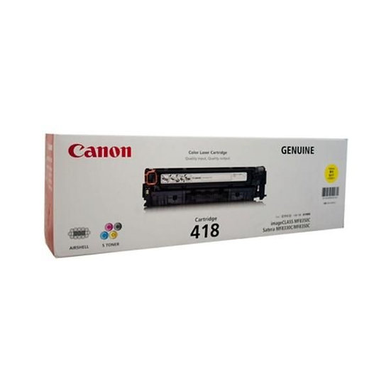 Canon CART 418Y (2.9k pgs) Consumables