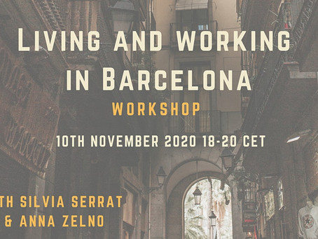 Barcelona Living & Working (tips + workshop)