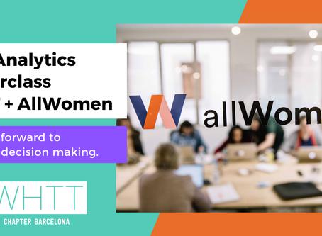 First WHTT & All Women Tech collaboration