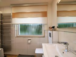 Badezimmer Rollo Purist mit Blende
