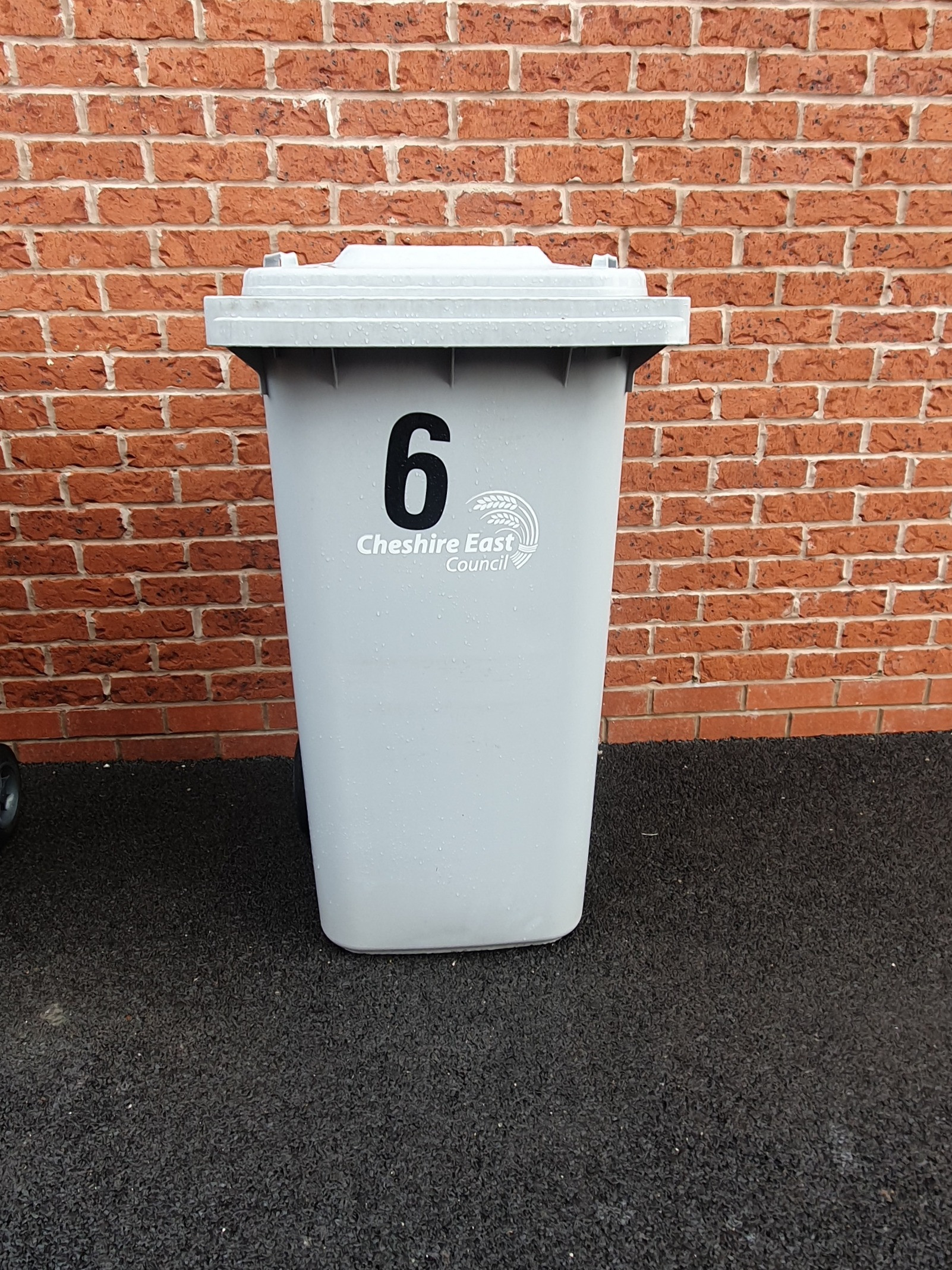 Grey bin clean 4 weekly £4.00