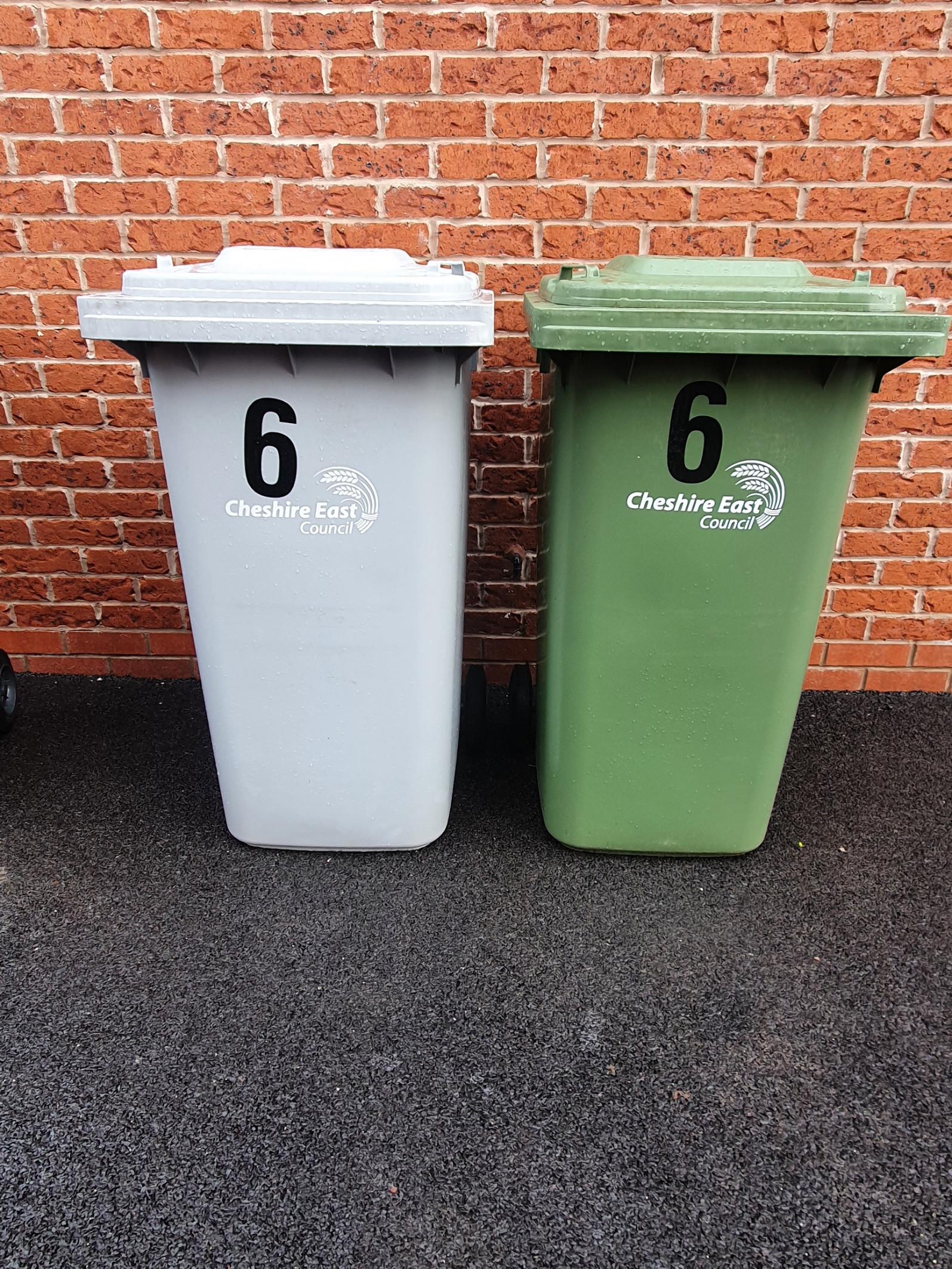 Green & Grey bin clean 4 weekly £8.50