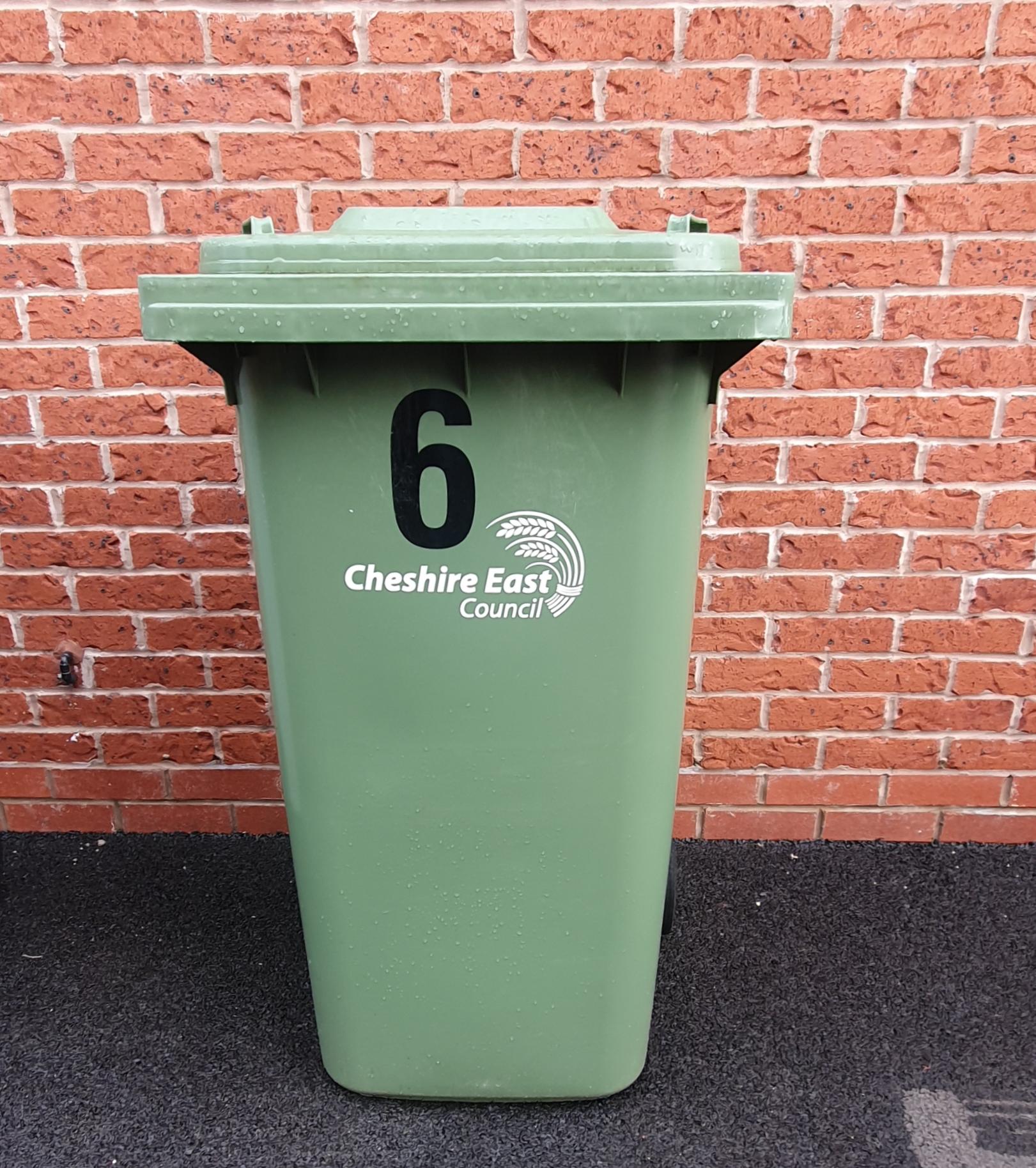 Green/Brown bin clean 4 weekly £4.50