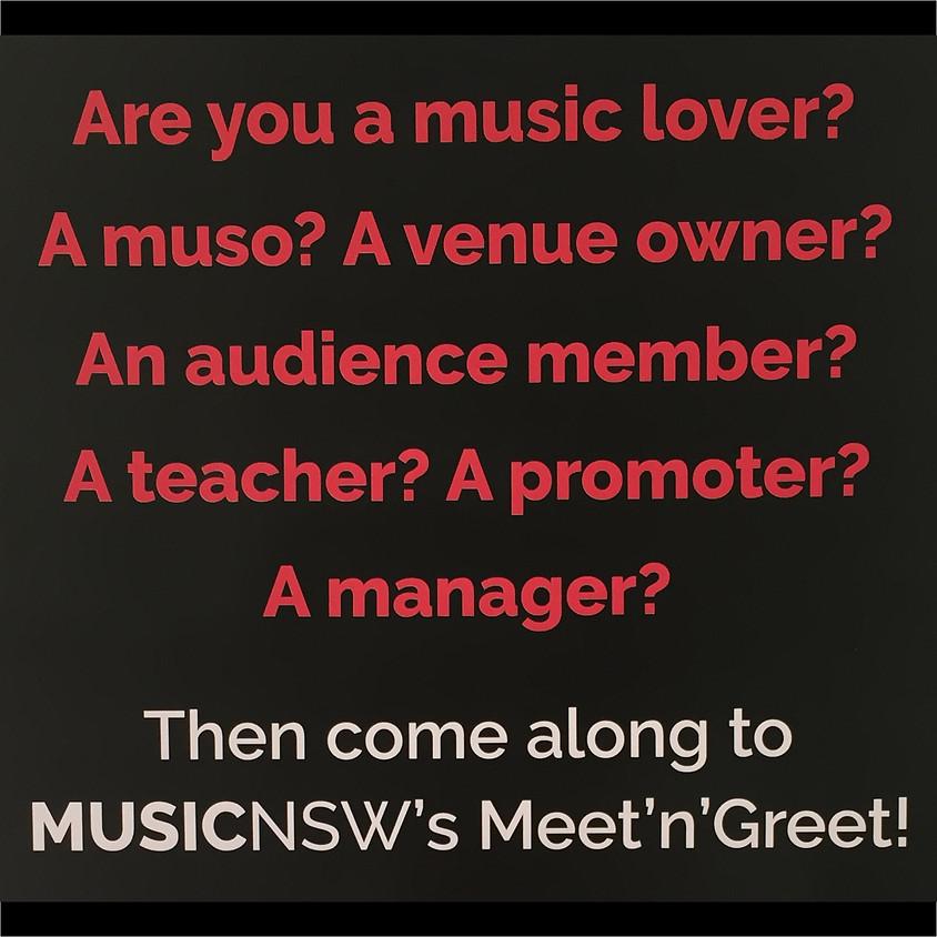 MusicNSW's Meet'n'Greet