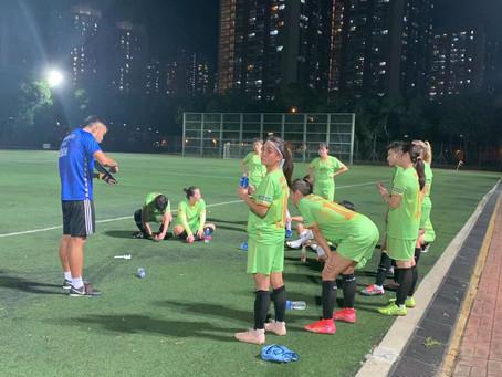 九龍城區體育會女子足球隊友誼賽