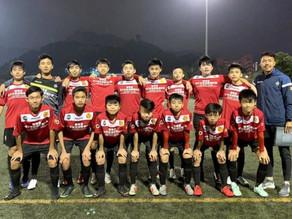 九龍城U15青年軍被邀請到北京出席足球國際賽