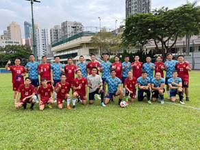 九龍城區體育會 x 西九龍警官隊 友誼賽