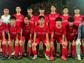 【賽馬會青少年足球聯賽 U16A組聯賽】九龍城1:0勝All Black FC