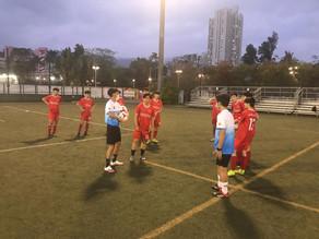 2020-2021年度九龍城區青少年足球隊U15 U16 訓練進行中