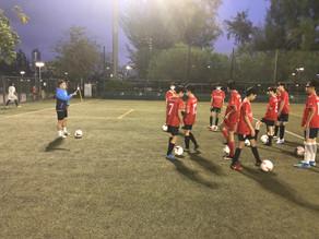 九龍城區U15 U16 年後首訓正式開始