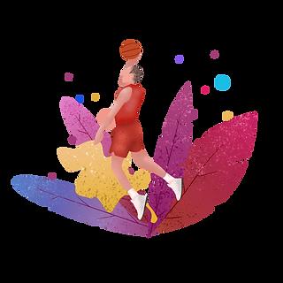 千库网_篮球运动员插画_元素编号12029358.png