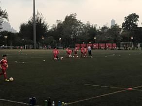 2020-2021年度九龍城區青少年足球隊U12 訓練進行中