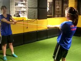 女子足球隊如常訓練積極備戰