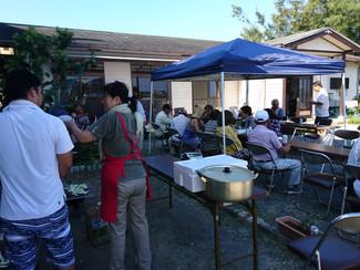 納涼BBQ大会を開催