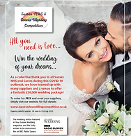 Wedding competition poster