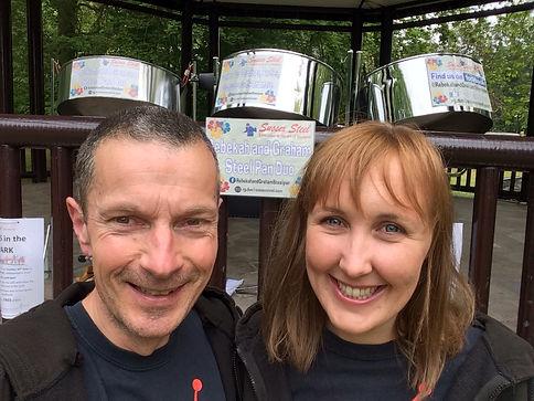 Steel Pan Duo at Hotham Park