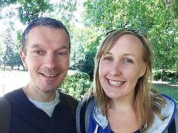 RG Steelpan Hotham Park selfie