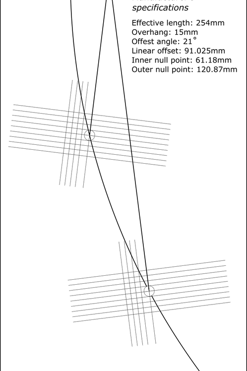 Cartridge Arc Protractor for JVC/Victor JQL-A70/A75/A95 QL-Y55F/Y66F/Y77F