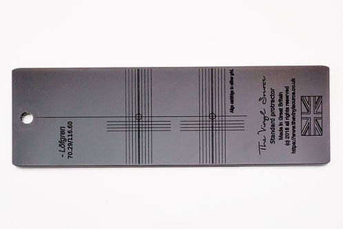 Cartridge Alignment Protractor- Loefgren