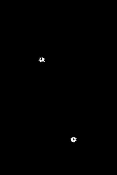 Cartridge Arc Protractor for JVC/Victor UA-5045 and UA-7045 tonearms