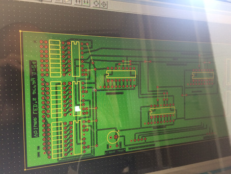 Working on the controller board